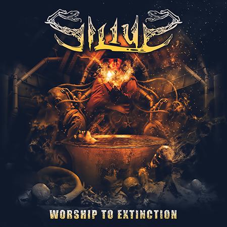 Silius-Worship to Extinction-Album Cover