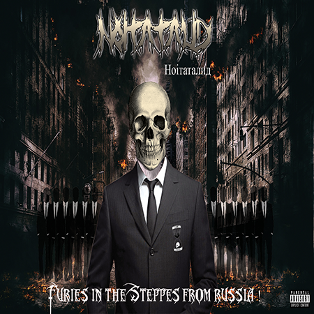 NOITATALID-Furies in the Steppes from Russia-Album Cover