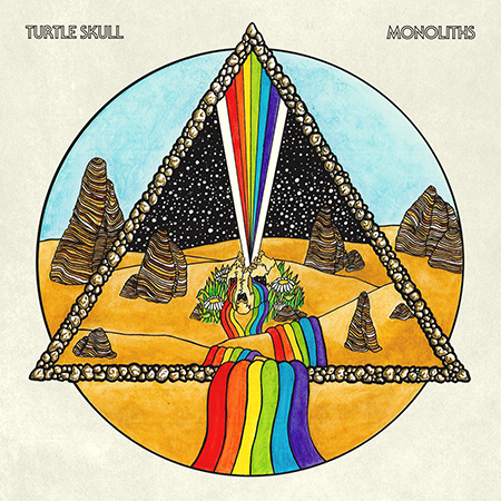 Turtle Skull-Monoliths-Album Cover