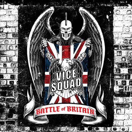 Vice Squad-Battle of Britain-Album Cover