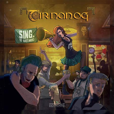 Tir Nan Og-Sing, Ye Bastards!-Cover
