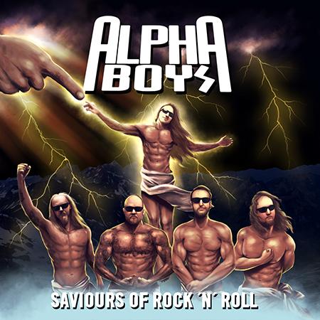 Alpha Boys-Saviours Of Rock 'N' Roll-Artwork