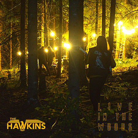 The Hawkins-Live In The Woods-Artwork