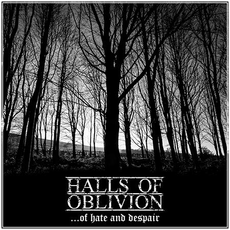 Halls of Oblivion-Of Hate and Despair-Artwork