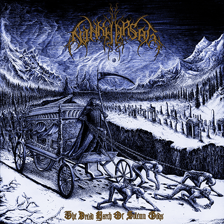 Ninkharsag - The Dread March of Solemn Gods - Cover