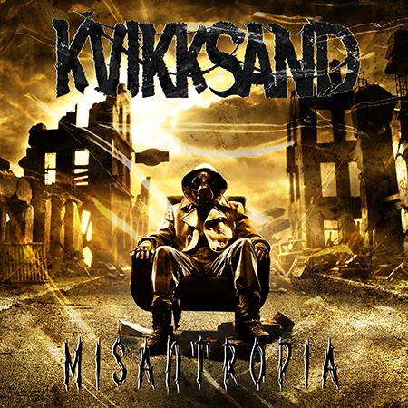 Cover art Kvikksand - Misantropia
